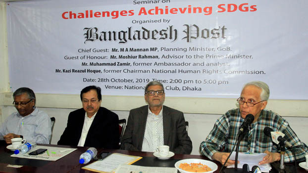 Bangladesh to achieve SDGs in time