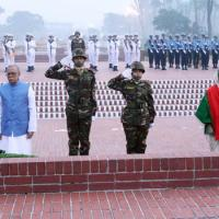 President, PM pay tributes to Liberation War martyrs