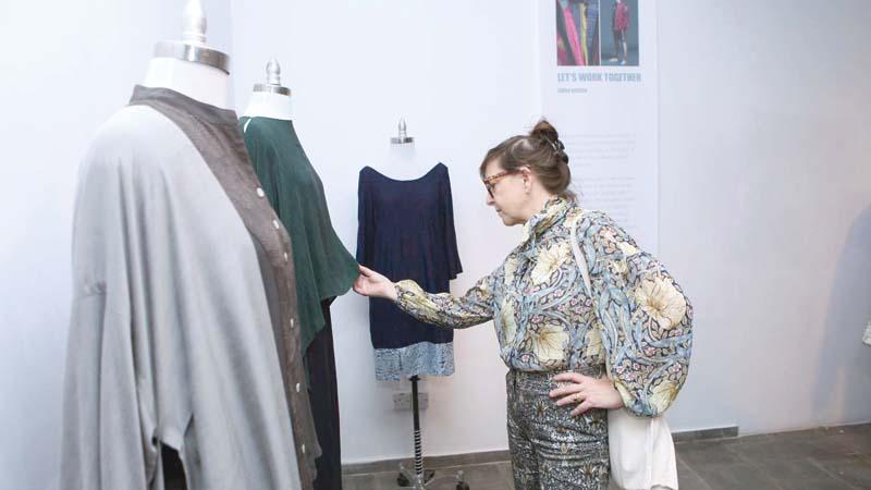 Fashion Design Exhibition Local International Begins Bangladesh Post