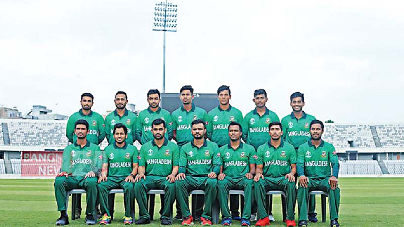 162238102 Tigers World Cup jersey unveiled - Bangladesh Post